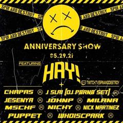 MSCHF Spin And Destroy Anniversary set