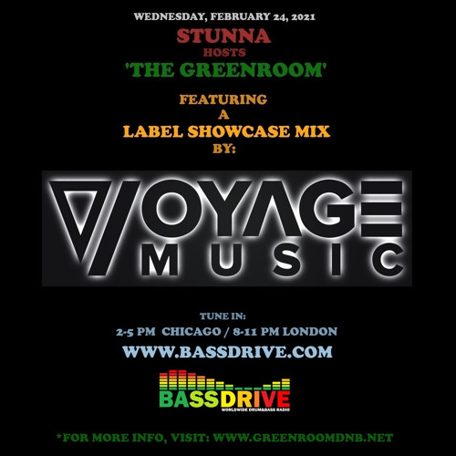 STUNNA - Greenroom DNB Show (Voyage Music Guest Mix) (24/02/2021)