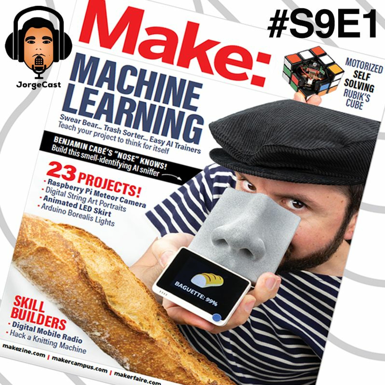 S9E1 - Fábricas Sustentáveis com IIoT / Indústria 4.0 e o Nariz Artificial de Benjamin Cabé