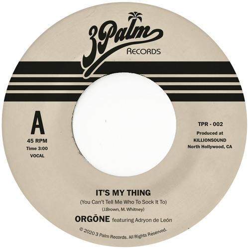It's My Thing (You Can't Tell Me Who To Sock It To) by Orgone