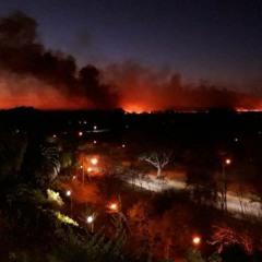 Incendios en las islas: convocan a reclamar en el Municipio