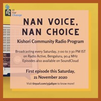 Nan Voice Nan Choice - Radio Active - Week 06  - IT For Change For Adolescent Girls