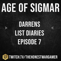 Darrens List Diary Episode 7