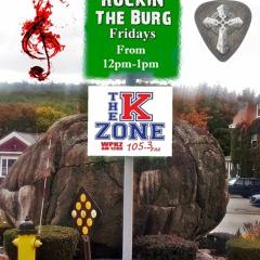 6 - 11 - 21 Rockin The  Burg -Scott  Alan  Savoy