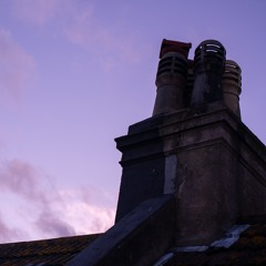 Rooftops on Stanford Road in Brighton On A Summers Evening