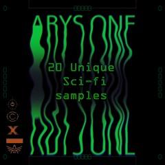 Alone - scifi retro audio sample loops (sample extrait du pack SCI-FI Rétro)