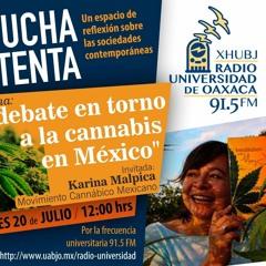 Programa Escucha Atenta.- El debate en torno a la cannabis en México.