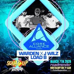 DJ WARDEN x JWILZ x LOAD B (CAA) - SQUAD UP - MARCH 2020