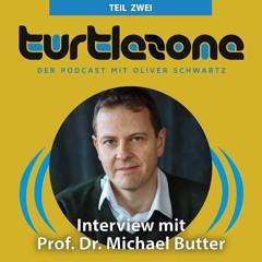 Prof. Dr. Michael Butter im Turtlezone Interview (Teil 2)