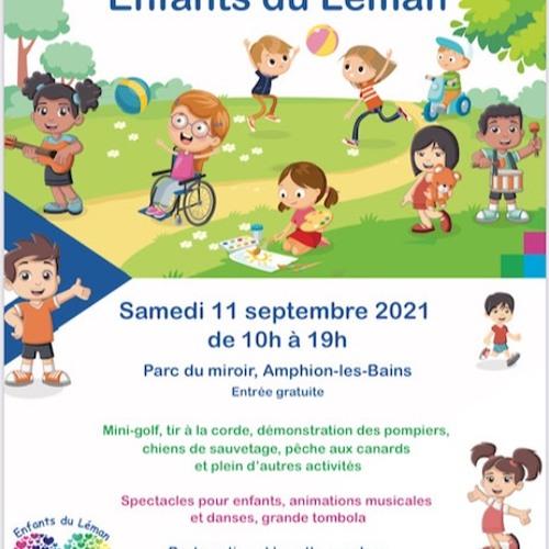 ITW PEGGY BOUCHET POUR LA FETE DES ENFANTS DU LEMAN 2021