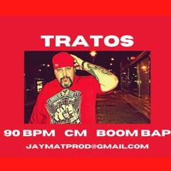 (FREE) Tratos 90 Bpm Cm (Boom Bap Type Beat) Jaymatprod