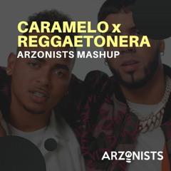 Ozuna ft. Karol G & Myke Towers x Anuel AA - Caramelo x Reggaetonera (Remix)(Arzonists Mashup)