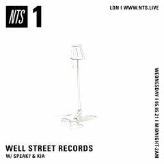 NTS Radio w/ Speak7 & Kia (05.05.21)