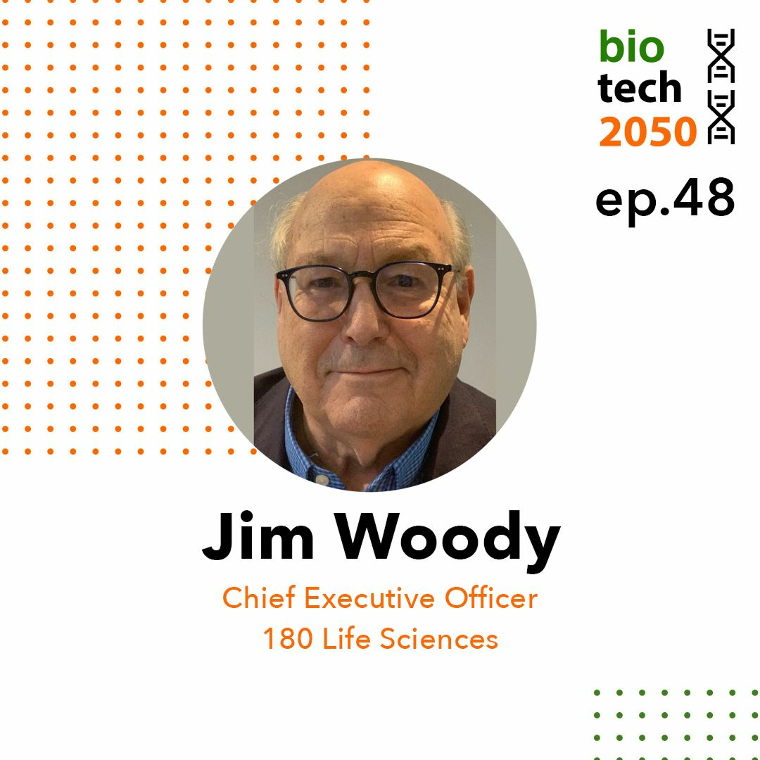 48. Anti-TNF: From Arthritis to Dementia and Fibrosis, Jim Woody, CEO, 180 Life Sciences