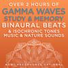 Memory Booster Soundtrack - 41.2 Hz Gamma Frequency Binaural Beats