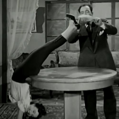 إسماعيل يس + كيتي - الزوجة الخائنة ... عام 1954م