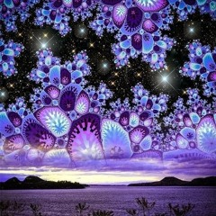 Dripping Purple