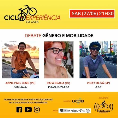 CICLOEXPERIÊNCIA 2020 - EM CASA - GÊNERO E MOBILIDADE