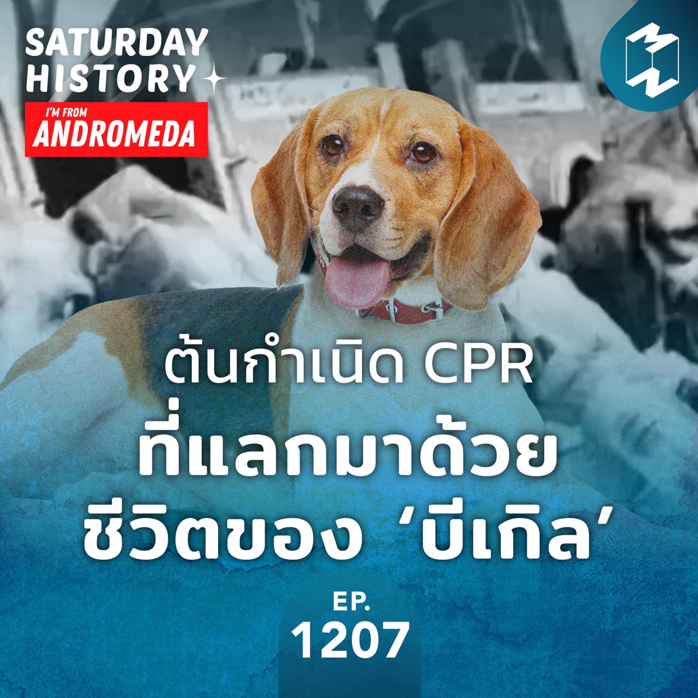MM Saturday History EP.1207 | ต้นกำเนิด CPR ที่แลกมาด้วยชีวิตของ 'บีเกิล'