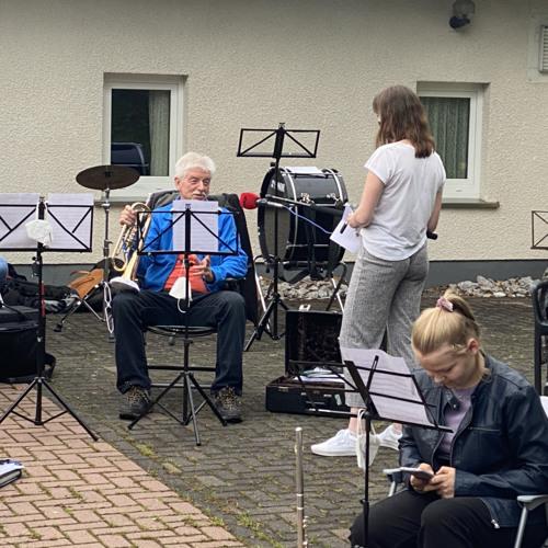 Radio Siegen Mitschnitt Probe Musikzug Netphen