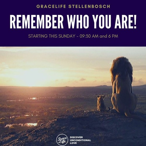 Remember Who You Are - Part 1 - Looking Into The Mirror - Pieter Weenink (Stellenbosch)