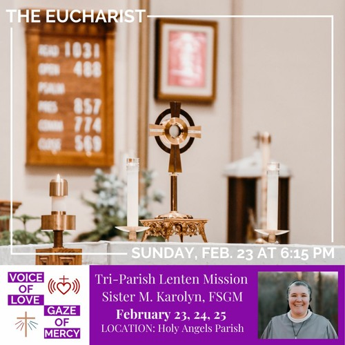 Lenten Mission Talk 1