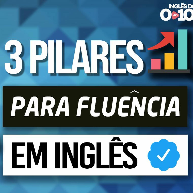 Os 3 pilares Para Fluência em Inglês [Evento gratuito e online]