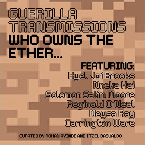 Who owns the ether - Guerilla Transmission #1
