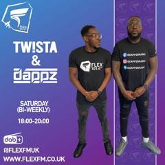 Tw!sta & Dappz W/ Matt Jam Lamont on Flex FM 12th June 2021
