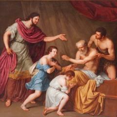 65. Jacob bénit Éphraïm et Manassé, les fils de Joseph (Genèse 48)