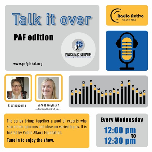 Talk It Over Ep 6 With Vanesa By RJ Annapoorna