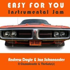 Easy For You Instrumental Jam | Andrew Doyle & Jan Schonander