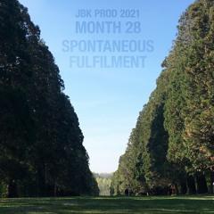 Month 28 - Spontaneous Fulfilment