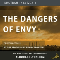 The Dangers Of Envy