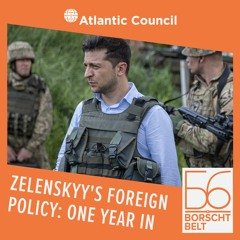 Zelenskyy's foreign policy: One year in