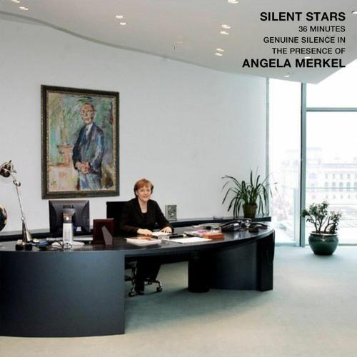 36 Minutes Genuine Silence in the Presence of Angela Merkel