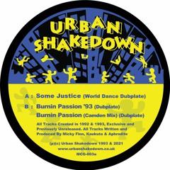 1. Urban Shakedown - Some Justice (World Dance Dubplate) - MCG003 - 192mp3 clip