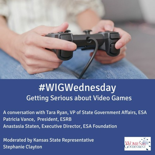 #WIGWednesday July 22: Getting Serious About Video Games