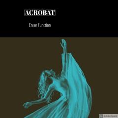 Acrobat / Erase Function