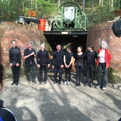 Der aufgefaltete Raum (2014/2015) für Schlagquartett und 3 Fern-SchlagzeugerProduktion WDR