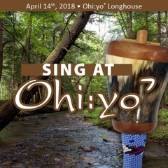 Onondaga Men - Ęhsganye:ˀ Gaę:nase:ˀ (New Women's Shuffle Dance) (Sing at Ohi:yoˀ - S18)