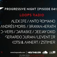 BRYAN HERATH - Progressive Night Episode 041 - Loops Radio