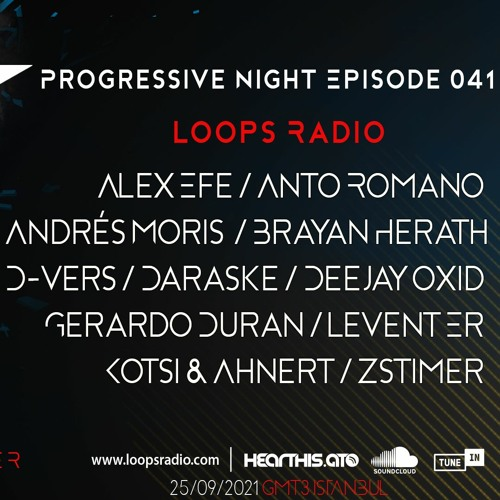DARASKE - Progressive Night Episode 041 - Loops Radio