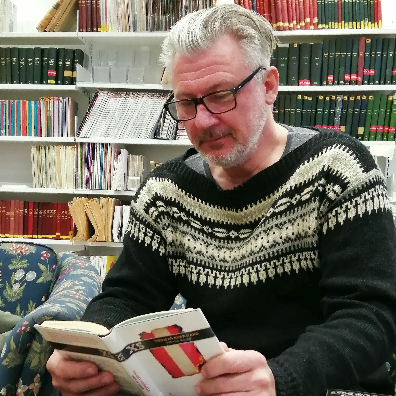 #244: Tre bøker i mitt liv: Harald Birkevold