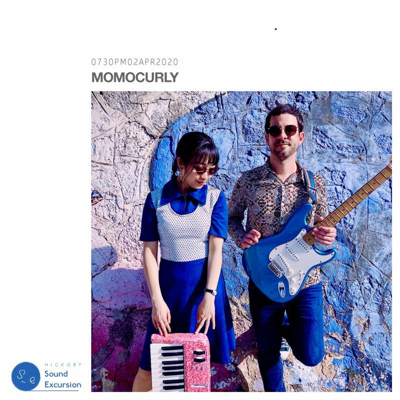 #208 - Momocurly (フレンチポップ・ジャズユニット)- 02APR2020