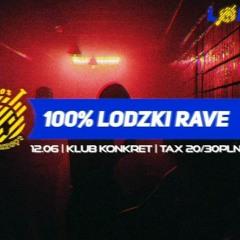 Freywest - 100% ŁODZKI RAVE - VIVA EDITION - Konkret Klub 12.06.2021r