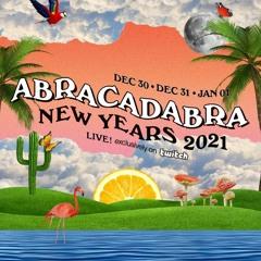 ABRACADABRA NEW YEARS 2021