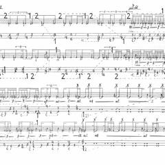 Matias Far - El poeta - en 7 letras, una de ellas releída (2013) for two alto saxophones