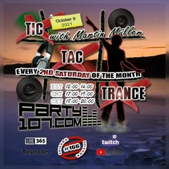 Tic Tac Trance 166 with Martin Mueller (October 9 2021)
