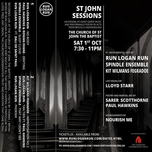 Paul Hawkins & Rowan Evans - Live @ St John Sessions, Bristol